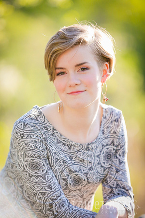 senior photos with professional photographer for coon rapids high school mn