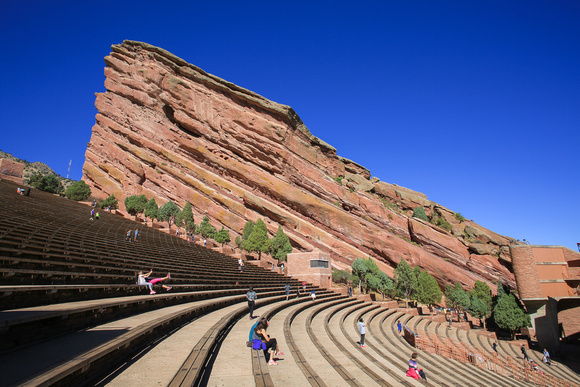 red rocks national park and amphitheatre morrison colorado travel photography by professional photographer laine torres