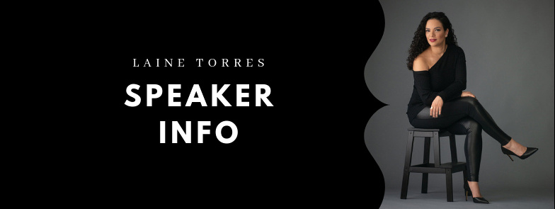 Professional Speaker Info Page About Laine Torres Photography