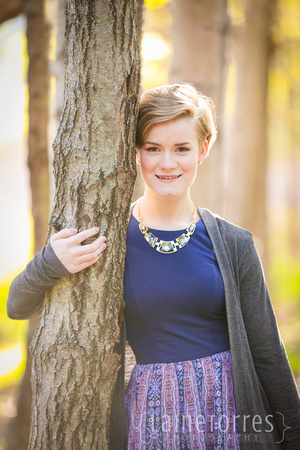 senior portraits coon rapids high school maria hennen