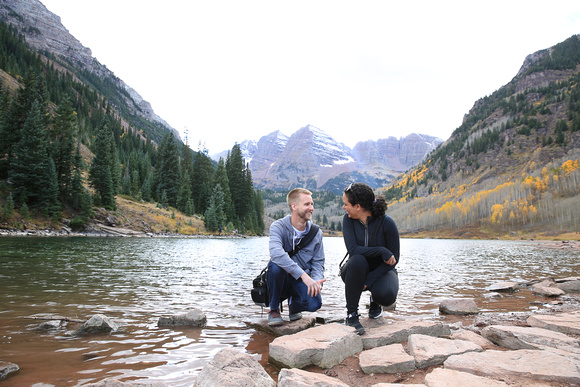 maroon lake aspen colorado travel photography by professional photographer laine torres